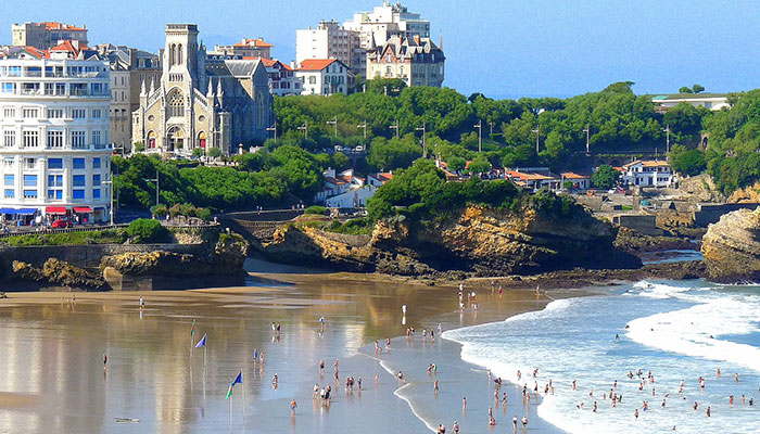 BIARRITZ AND SAINT
