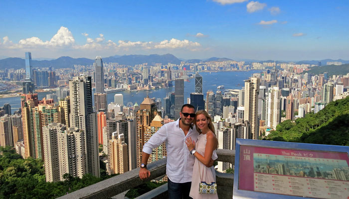 Honeymoon in Hong-Kong